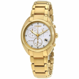 Citizen FB1396-57A Eco-Drive Ladies Chronograph Quartz Watch