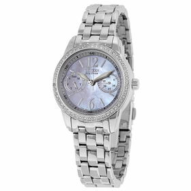 Citizen FD1030-56Y Silhouette Ladies Chronograph Eco-Drive Watch