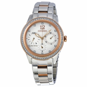 Citizen FD2016-51A Silhouette Crystal Ladies Eco-Drive Watch