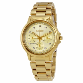 Citizen FD2042-51P Silhouette Crystal Ladies Quartz Watch