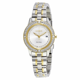 Citizen FE1154-57A Silhouette Crystal Ladies Eco-Drive Watch