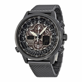 Citizen JY8037-50E Navihawk A-T Mens Chronograph Eco-Drive Watch