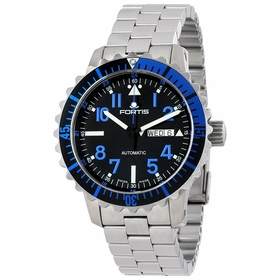 Fortis 670.15.45 M Marinemaster Blue Mens Automatic Watch
