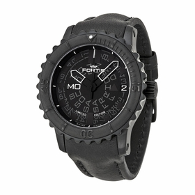 Fortis 675.18.81 L.01 Big Black Mens Chronograph Automatic Watch