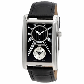Frederique Constant FC-205BS4C26 Carree Dual Time Mens Quartz Watch