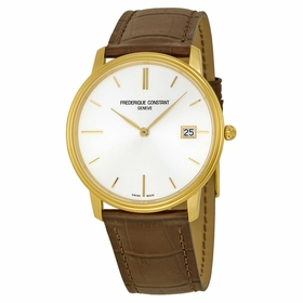 Frederique Constant FC-220NV4S5 SlimLine Mens Quartz Watch