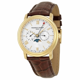 Frederique Constant FC-270SW4P5 Business Timer Mens Quartz Watch