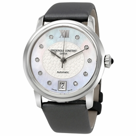 Frederique Constant FC-303WHD2P6 Slimline Ladies Automatic Watch