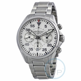 Hamilton H64666155 Khaki Pilot Mens Chronograph Automatic Watch