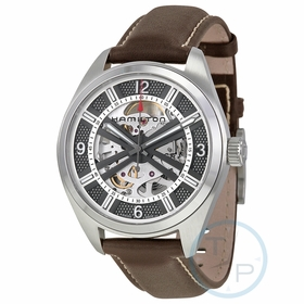 Hamilton H72515585 Khaki Skeleton Mens Automatic Watch
