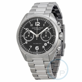 Hamilton H76416135 Pilot Pioneer Mens Chronograph Automatic Watch