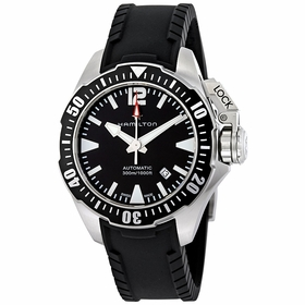 Hamilton H77605335 Khaki Navy Frogman Mens Automatic Watch