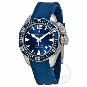 Hamilton H77705345 Khaki Navy Frogman Mens Automatic Watch