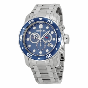 Invicta 0070 Pro Diver Mens Chronograph Quartz Watch