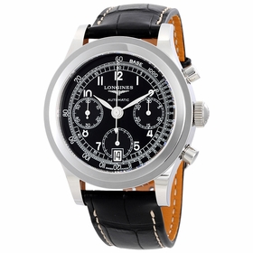 Longines L2.768.4.53.2 Heritage Mens Chronograph Automatic Watch