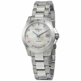 Longines L3.377.4.87.6 Conquest Ladies Quartz Watch