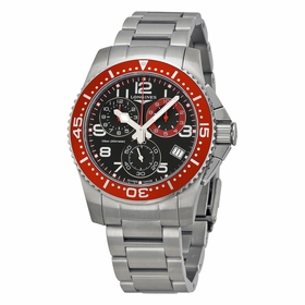 Longines L3.690.4.59.6 HydroConquest Mens Chronograph Quartz Watch