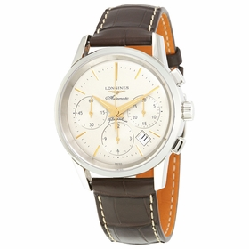 Longines L4.796.4.78.2 Heritage Mens Chronograph Automatic Watch