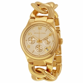 Michael Kors MK3131 Runway Ladies Chronograph Quartz Watch
