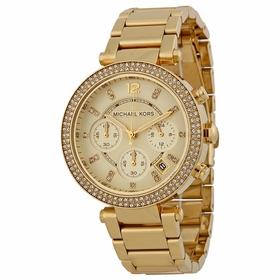 Michael Kors MK5354 Parker Ladies Chronograph Quartz Watch