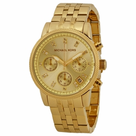 Michael Kors MK5676 Ritz Ladies Chronograph Quartz Watch