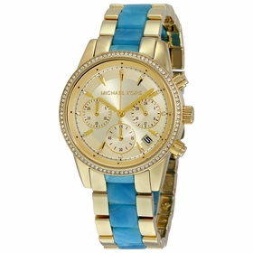 Michael Kors MK6328 Ritz Ladies Chronograph Quartz Watch