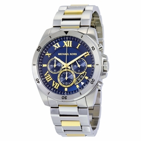 Michael Kors MK8437 Brecken Mens Chronograph Quartz Watch
