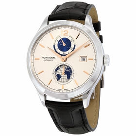 MontBlanc 113779 Heritage Chronometrie Dual Time Mens Automatic Watch
