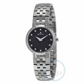 Movado 0605586 Faceto Ladies Quartz Watch