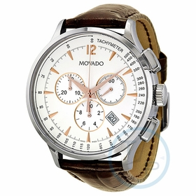 Movado 0606576 Circa Mens Chronograph Quartz Watch