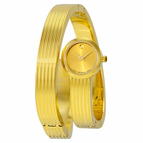 Movado 0606806 Museum Wrap Ladies Quartz Watch