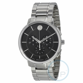 Movado 0606886 Thin Classic Mens Chronograph Quartz Watch