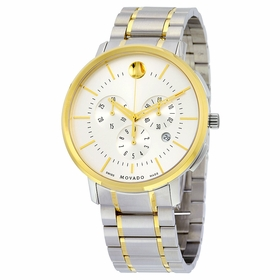 Movado 0606887 Thin Classic Mens Chronograph Quartz Watch
