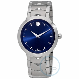 Movado 0607042 Luno Mens Quartz Watch