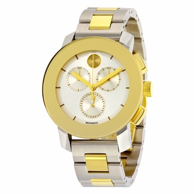 Movado 3600357 Bold Unisex Chronograph Quartz Watch