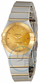 Omega 123.20.24.60.08.001 Constellation Ladies Quartz Watch