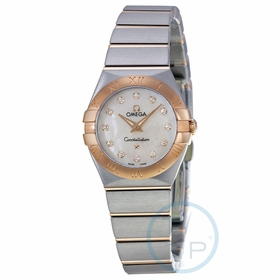 Omega 123.20.24.60.55.001 Constellation Ladies Quartz Watch