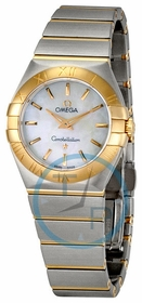 Omega 123.20.27.60.05.001 Constellation Ladies Quartz Watch