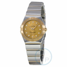 Omega 123.20.24.60.58.002 Constellation Ladies Quartz Watch