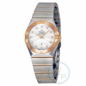 Omega 123.20.27.60.55.006 Constellation Ladies Quartz Watch