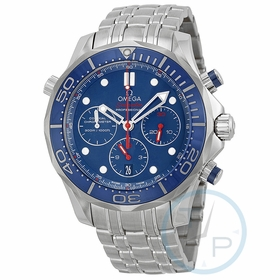 Omega 212.30.44.50.03.001 Seamaster Mens Chronograph Automatic Watch