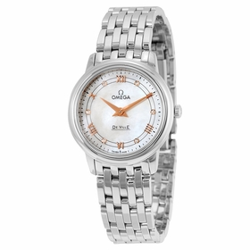 Omega 424.10.27.60.55.001 De Ville Ladies Quartz Watch