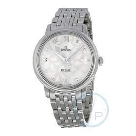 Omega 424.10.33.60.52.001 De Ville Prestige Ladies Quartz Watch