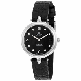 Omega 424.13.27.60.51.001 De Ville Prestige Ladies Quartz Watch