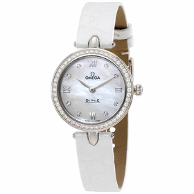 Omega 424.18.27.60.55.001 De Ville Prestige Ladies Quartz Watch