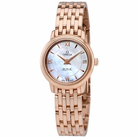 Omega 424.50.24.60.05.002 De Ville Prestige Ladies Quartz Watch