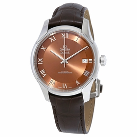 Omega 433.13.41.21.10.001 De Ville Hour Vision Mens Automatic Watch