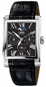 Oris 01 582 7658 4034-07 5 23 71FC Rectangular Mens Automatic Watch