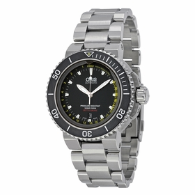 Oris 01 733 7675 4154-Set Aquis Depth Gauge Mens Automatic Watch