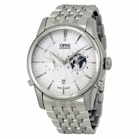 Oris 01 690 7690 4081-07 8 22 77 Artelier GMT Mens Automatic Watch